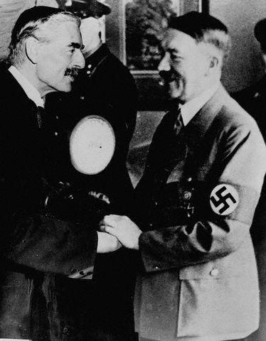 Chamberlain-hitler