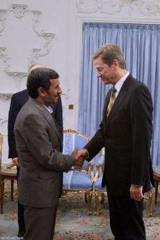 Ahmadinejad germay foreign minister