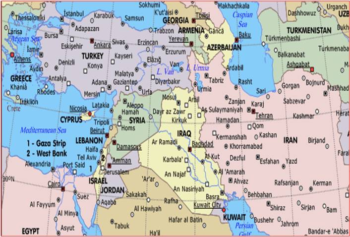 Middle east muslim cresent