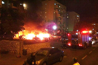 Fire in ashdod